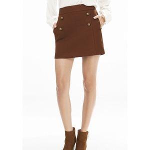 Express Sailor A-Line Mini Skirt High Waist SZ 0
